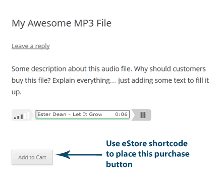 sell-mp3-file-with-estore-option-1