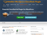 Another WordPress Classifieds Plugin