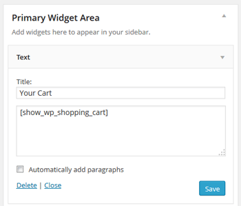 adding-a-sidebar-cart-widget