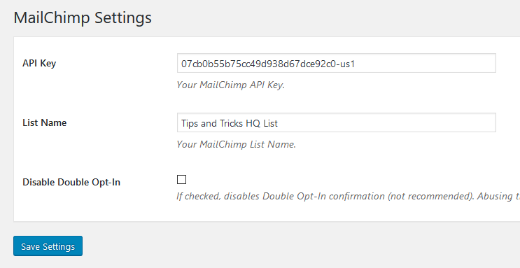 simple-cart-mailchimp-addon-settings