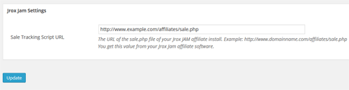jrox-jam-affiliate-integration-settings