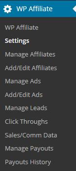 wp-affiliate-dashboard-menu-interface