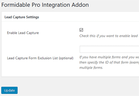 formidable-forms-lead-capture-integration-settings