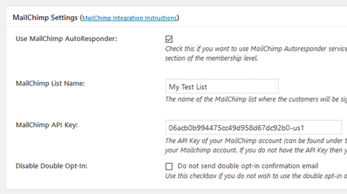 emember-mailchimp-autoresponder-integration-settings