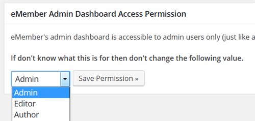 emember-admin-dashboard-access-permission-setup