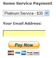 wordpress paypal payment widget