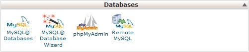 PHPMyAdmin access