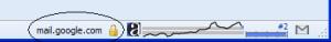 SSL Icon in the Status Bar