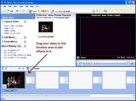How to rotate a video taken at an angle easily tips and tricks hq windows movie maker screenshot ccuart Images