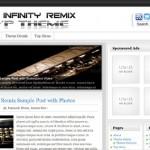 Infinity Remix – Premium WordPress Theme