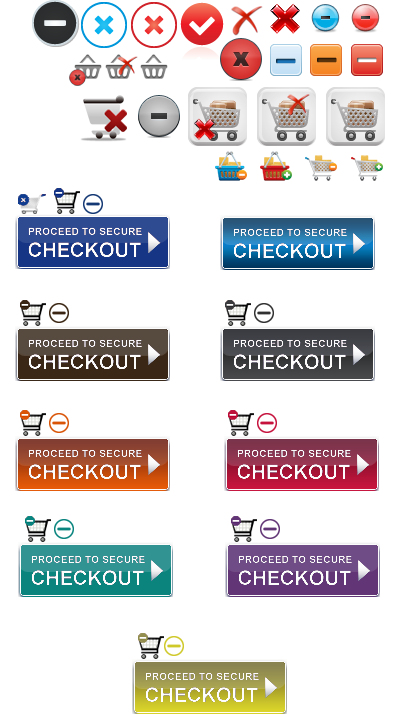 Shopping cart images and icons