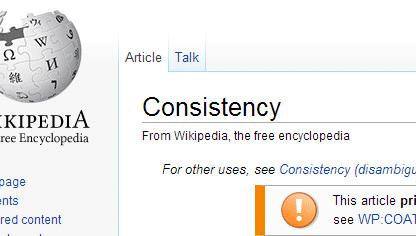 consistency produces result