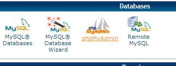cpanel-phpmyadmin-screenshot