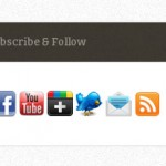 How To Create an Attractive Subscribe & Follow Box For Your WordPress Blog
