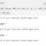 wordpress next page tag usage