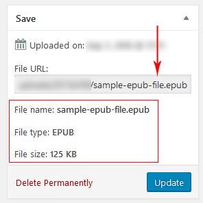 Epub File Opener