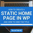 How to Make a Web Page Your Homepage