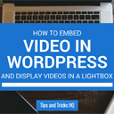 How to Embed Videos in WordPress