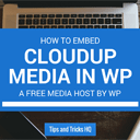 How to Embed Cloudup Media into WordPress