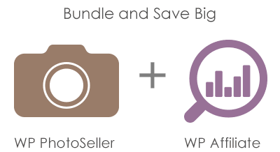 photo seller and affiliate plugin bundle