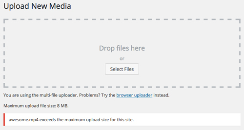 How To Increase The File Upload Limit Of Wordpress Tips And Tricks Hq