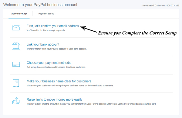 How do i change my email address on paypal app