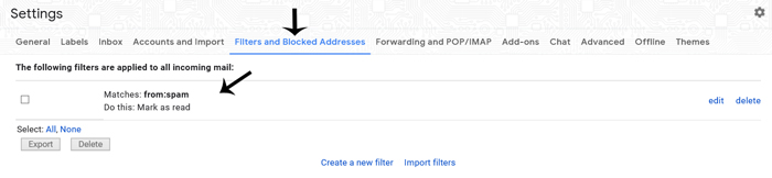 gmail-filter-configuration