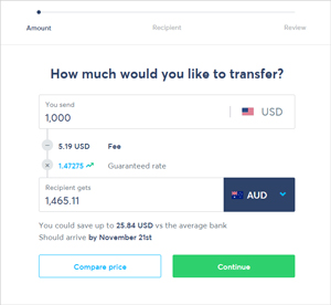 transfer-funds-transferwise-to-different-currency