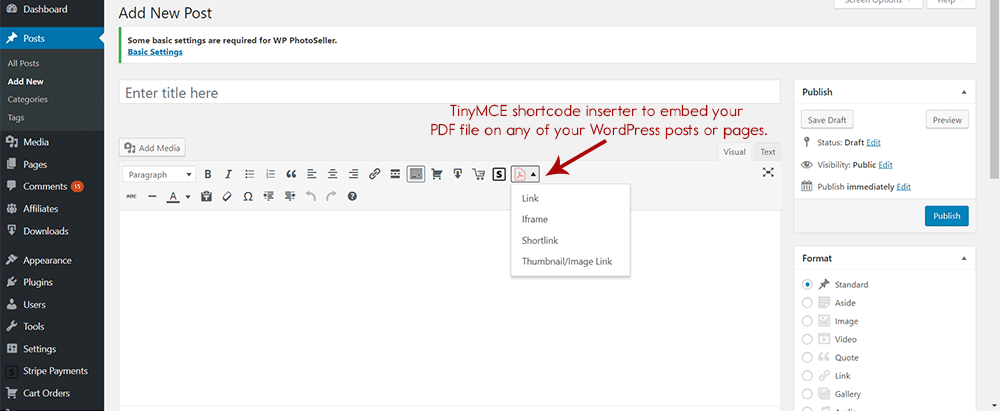 WP PDF Viewer Plugin | WP PDF Stamper